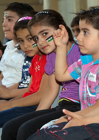 Christian school hit by rebel missile