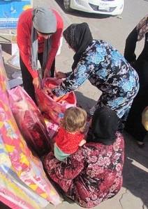 VOM is providing assistance to Christian refugees in Syria.  (Photo, caption courtesy VOM)