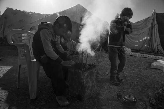 A soul-chilling cold for Syrian refugees