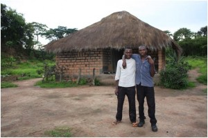 Emma's two grandsons can go to school (Photo by Bright Hope International)