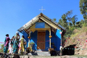 A remote mountain village in West Bengal, India, had no Christians a few years ago. Now the village has a church and a growing community of believers who are sharing the gospel with their neighbors.  (Image, caption courtesy Christian Aid)