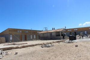 A new school is being built to give even more kids an education.