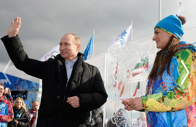 Courtesy of the 2014 Winter Olympic Games in Sochi, RU.