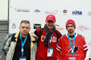 Russian Ministries Team Gennady Tarkun and Pavel Tokachuk (photo by Greg Yoder).