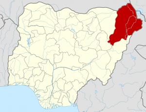 Borno State of Nigeria (Photo from Wikimedia commons http://en.wikipedia.org/wiki/File:Nigeria_Borno_State_map.png)