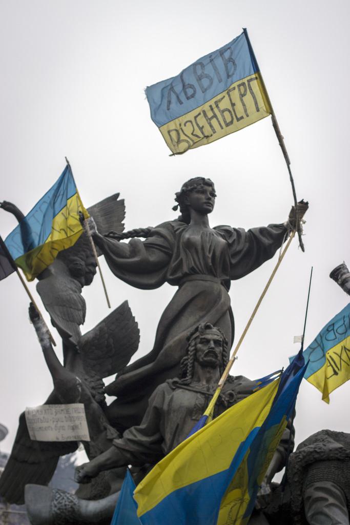 Ukraine unrest leads to unity