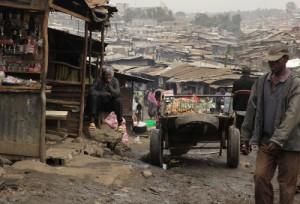 Mathare Valley is one of the oldest, biggest, and worst slums in Nairobi, Kenya.  (Image, caption courtesy Bright Hope)