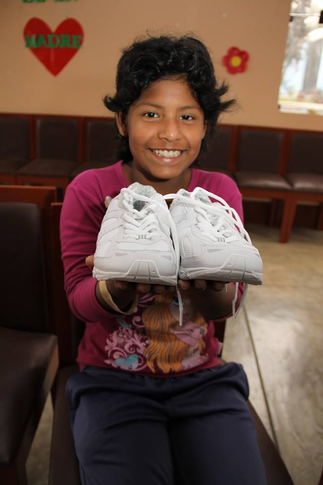 Host a shoe drive to share Christ with next generation