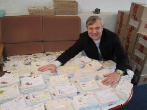 The radio ministry has received thousands of letters from faithful listeners. (Image, caption courtesy Christian Aid)