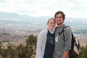 Brian and Jesse Monda are serving as GreenLight interns in Peru for one year. (Photo by The Mission Society)