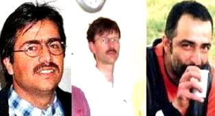Necati Aydin, Ugur Yuksel and Tilmann Geske killed in 2007.