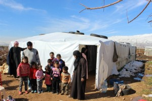With the help of partners in the region, Open Doors is helping some 8,000 families in Syria.  (Image courtesy Open Doors)