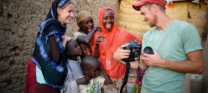 Interns serving in Chad.  (Image courtesy PIONEERS)