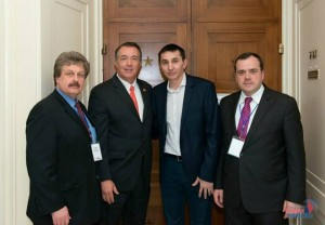 Russian Ministries Sergey Rakhuba (left) and Wade Kusack
