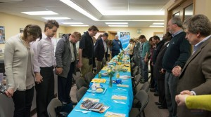 Russian Ministries recently gathered prayer partners at its U.S. headquarters to pray for the crisis in Ukraine.  (Image courtesy Russian Ministries)