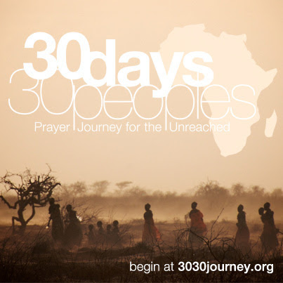 30 Days 30 Peoples initiates prayer for the unreached in Africa