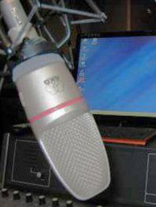AMG uses the airwaves to share the Good News of Christ around the world.  (Image, caption courtesy AMG)