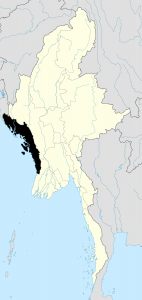 Rakhine state is located in Western Burma.