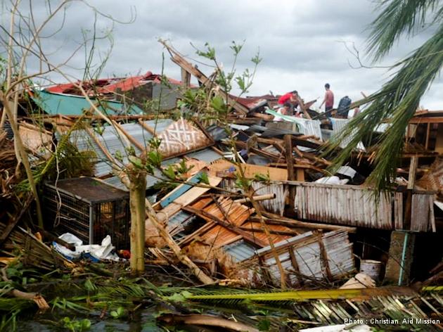 Destruction remains five months after Typhoon Haiyan