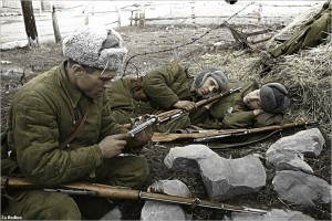 Russian soldiers in winter.  (Photo cred: Za Rodinu via Flickr)