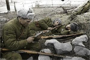 Russian soldiers in winter.  (Photo cred: Za Rodinu via Flickr)