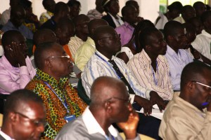 Pastors at a 2013 Frontline Shepherds Conference in Ghana.  (Image courtesy Global Advance)