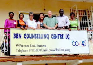ReachBeyond's in-country partner is helping victims find peace and healing in Christ with a drop-in counseling center and on-air counseling.  (Image courtesy ReachBeyond)