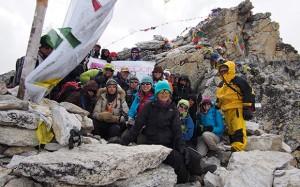 Freedom climb (Photo courtesy of Operation Mobilization)