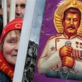 Russians are looking at the 'glory days' of the former Soviet Union.