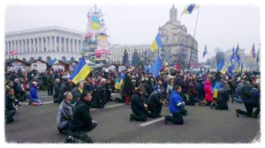 Ukrainians are publicly praying and churches are full again.