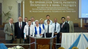 Around 70% of SGA's seminary graduates are serving in eastern Ukraine. Please pray for their safety.  (Image courtesy SGA)