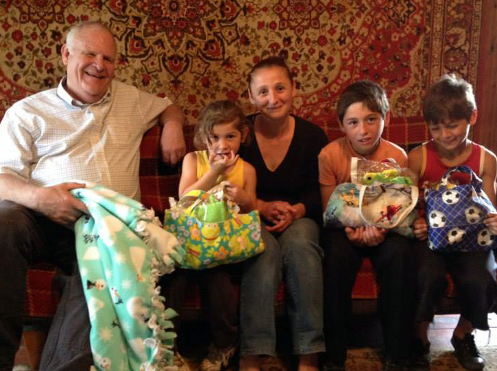 Easter baskets for Russian orphans