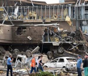 (Stock photo Tornado Damage, Oklahoma 2013, World Renew)