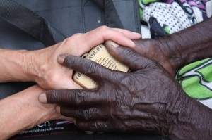 $50 puts a Treasure into the hands of a national believer.  (Image courtesy World Mission)