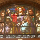 The Great Commission, at the Cathedral Parish of Saint Patrick in El Paso, Texas.