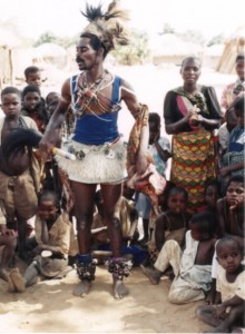 A Zambian witch doctor.  (Photo cred: Guy William Volk)
