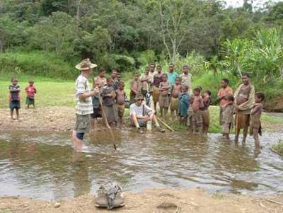 Outreach continues in Papua New Guinea despite crises