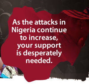 Will you stand with believers in Nigeria?