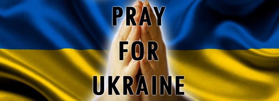 Pray for the Ukraine conflict.