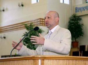 Pray for Ukraine's speaker of parliament, acting president, and evangelical believer Alexander Turchinov.