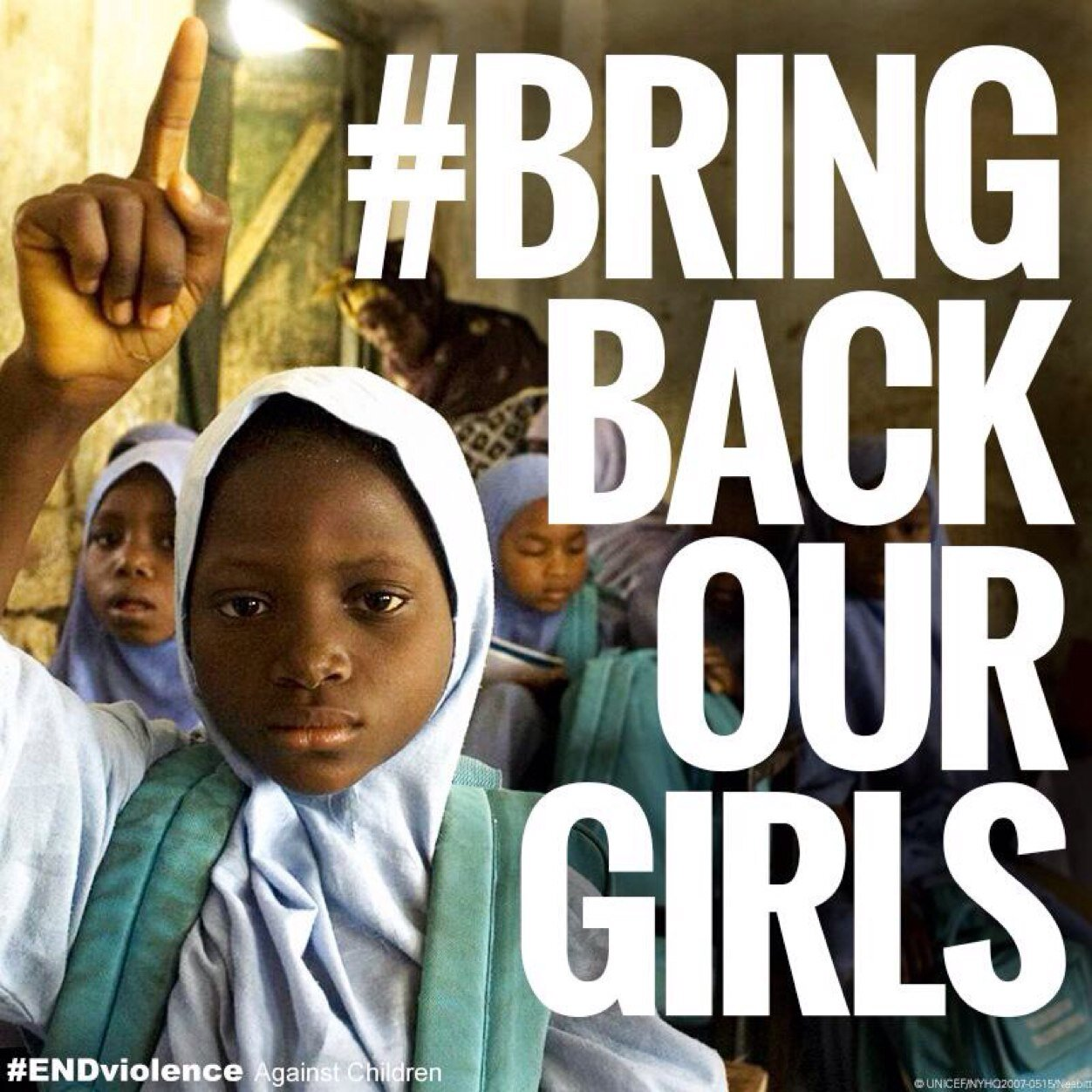 Families of kidnapped girls need encouragement