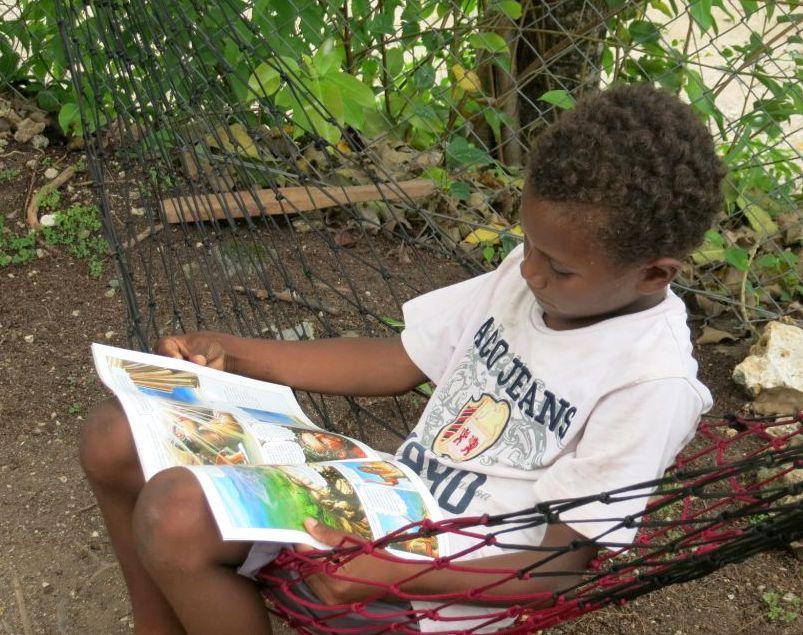 Bible comics introduce islanders to the love of God