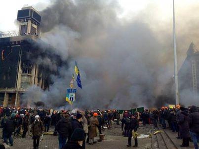Violence pushes Ukraine closer to war