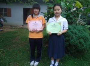 These two have memorized 500 Bible verses!  (Image, caption courtesy AMG)