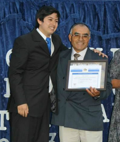 55-year-old Pastor Eleuterio Cayulao graduates high school
