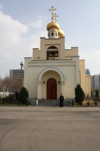 Russian Orthodox Church in Pyongyang, North Korea. Wikimedia commons: http://goo.gl/hr6lO2