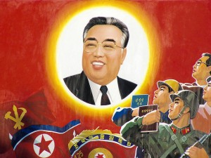 The only religion allowed in North Korea is juche, or the worship of the Kim family.  (Photo cred: yeowatzup via Flickr)