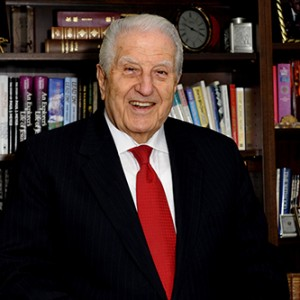 Dr. Haggai (photo courtesy of Haggai Institute)
