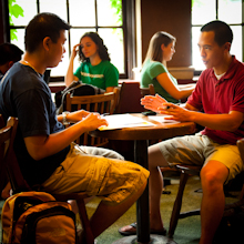 For 70 years God has enabled InterVarsity to engage students and faculty with the gospel. (photo courtesy of InterVarsity)