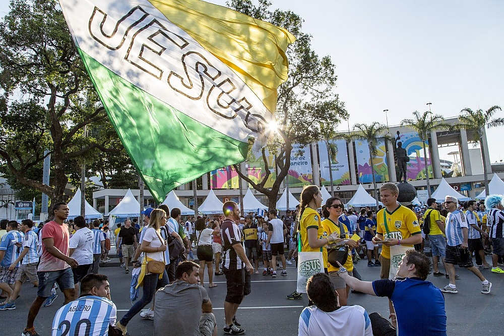 Sharing Christ at the World Cup